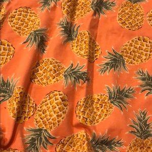 Cute Pineapple Halter Dress